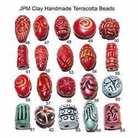 Handmade Terracotta Beads