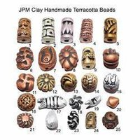 Clay Handmade Terracotta Beads
