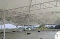 Industrial White Tensile Fabric Structure