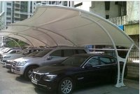 Parking Tensile Fabric Structure