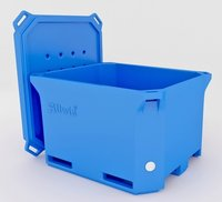 Plastic Insulated Fish Tubs