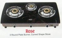 3 Burner Gas Stove - Rose (Wmgs 3ib)