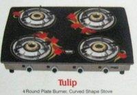4 Burner Gas Stove - Tulip (Wmgs 4ib)