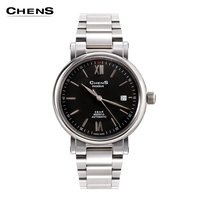 Mechanical Stainless Steel Sapphire Crystal Dial Watch
