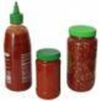 HDPE Plastic Ketchup Bottle with Dropper Cap