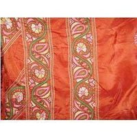 Kantha Stitch Chanderi Saree