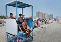 FRP Life Guard Towers