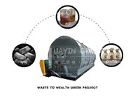 Waste Tyre Pyrolysis Plant With High Oil Yield