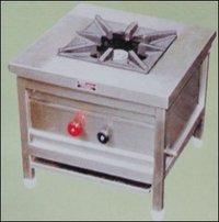 High Pressure One Burner Gas Cooking Range