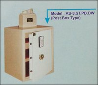 Post Box Type Electronic Safe (As-3.St.Pb.Dw)
