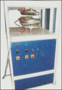 Semi Automatic Single Die Paper Plate Making Machine Deluxe