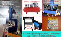 Car And Bike Number Plate Making Machine