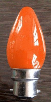 Candle Shape LED Bulb (0.5W-Orange)