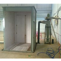 Cupboard Powder Coating Spray Booth