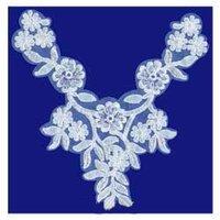 Designer Neck Patch Laces