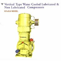 Vertical Type Water Cooled Lubricated And Non Lubricated Compressor
