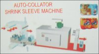 Auto Collator Shrink Sleeve Machine