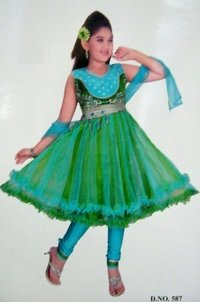 Kids Party Wear Salwar Suit