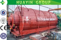 Batch Tyre Waste Tyre Recycling Pyrolysis Plant