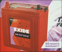 Exide Battery (Matrix)