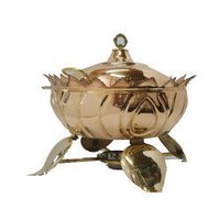 Lotus Chafing Dish Copper