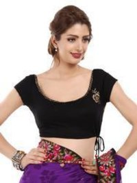 Black Saree Blouses