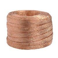 Bare Copper Wire Braided Strips