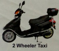 Battery Operated Two Wheeler Taxi
