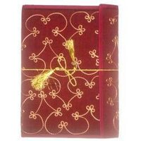 Red Embroidery Paper Folders