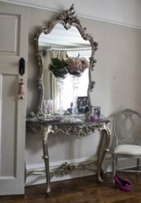 Hand Carved Dressing Table