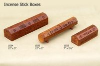 Wooden Incense Sticks Burner Boxes