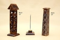 Wooden Incense Towers With Carving