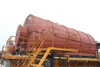 High Efficiency Waste Tyre To Oil Pyrolysis Plant