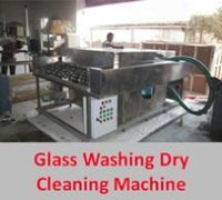 Glass Washing Dry Cleaning Machine