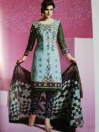 Elegant Printed Cotton Suits