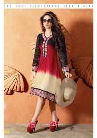 Banarsi Chanderi Ladies Suit