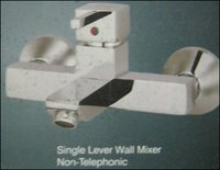 Non Telephonic Single Lever Wall Mixer