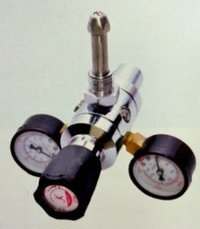 Double Stage Brass Regulator with Chrome Plated
