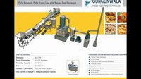 Industrial Namkeen Continuous Fryer