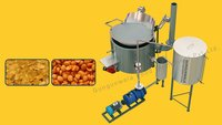 Continuous Potato And Banana Fryer