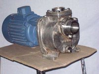 Stainless Steel Non Clog Pump