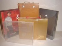 Plastic Clear Garment Packaging Box