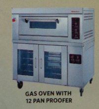 Gas Oven With 12 Pan Proofer