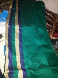 Cotton Silk Saree With Stripes