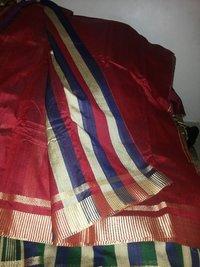 Elegant Cotton Silk Saree With Stripes