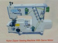 Nylon Zipper Sewing Machine With Servo Motor