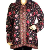 Ladies Woolen Embroidered Jackets