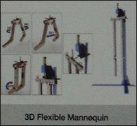3D Flexible Mannequins
