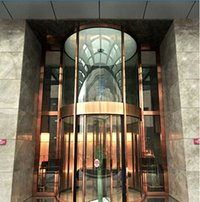 Pard-TF2000DC Two Wing Automatic Revolving Door