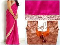 Stitched Blouse Saree